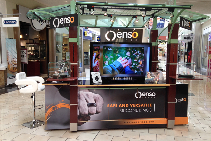 enso cart at mall