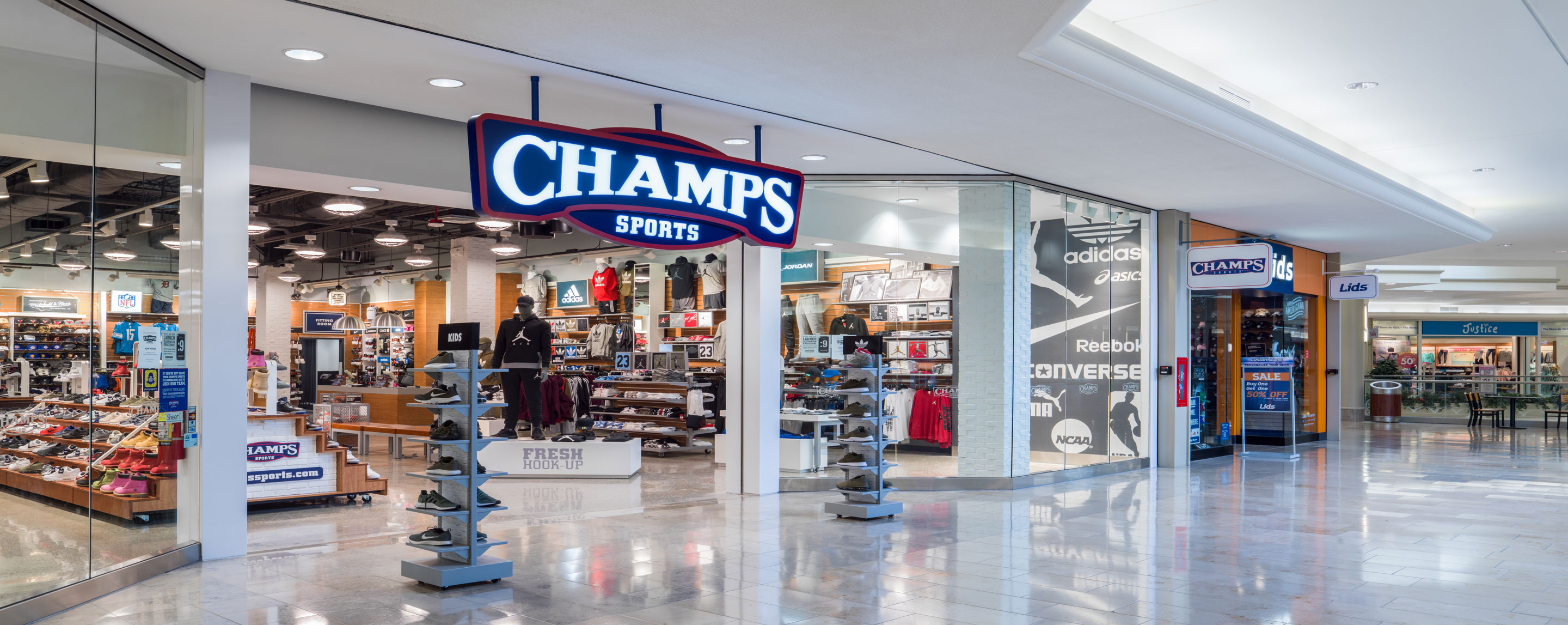 Champs and Lids at The Crossroads