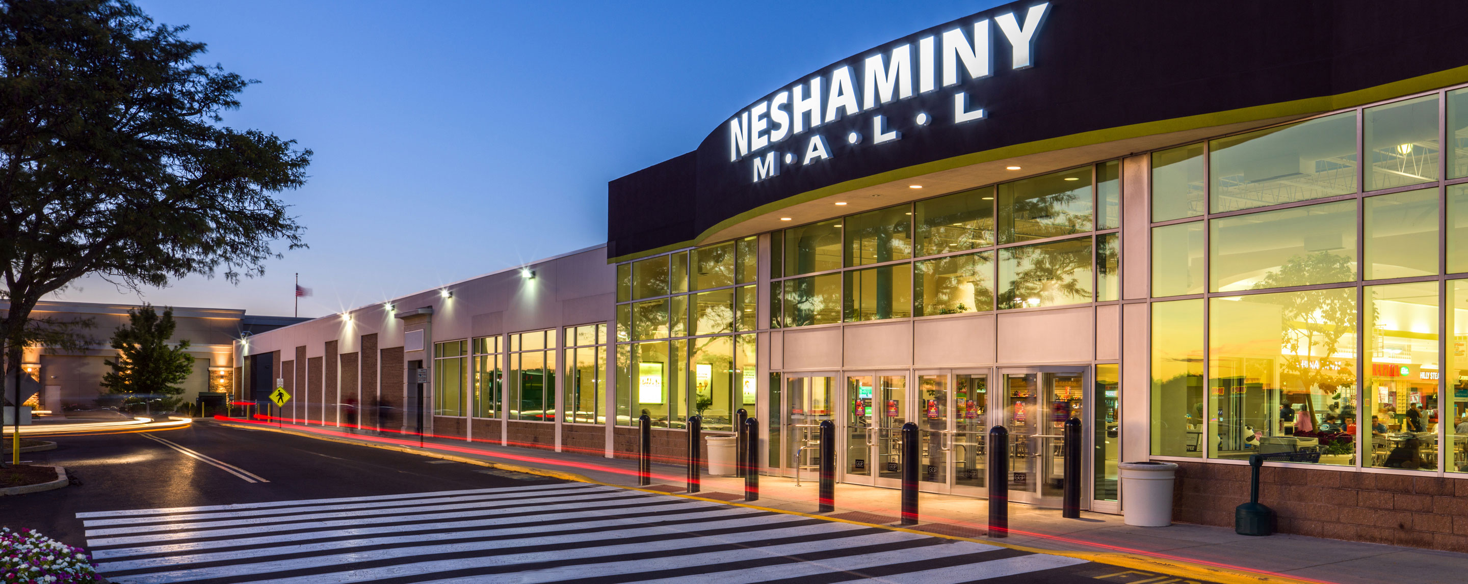 Neshaminy Mall - Main Entrance Exterior