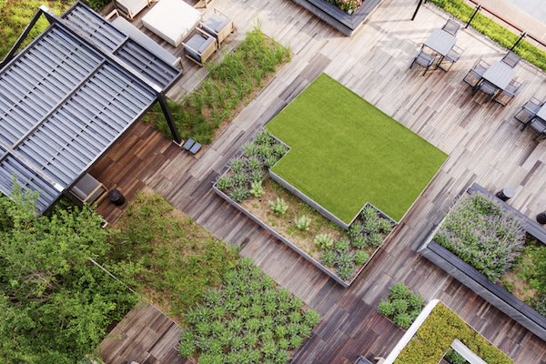 sustainability on rooftop