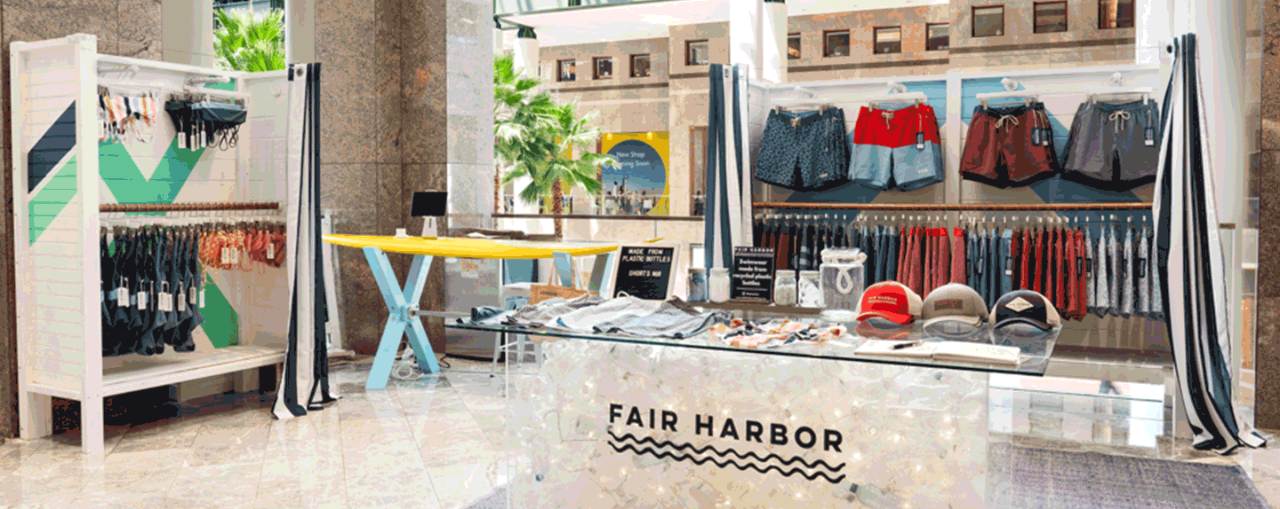 Fair Harbor Pops up at Brookfield Place