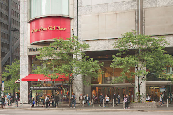 American Girl Doll store at Water Tower Place