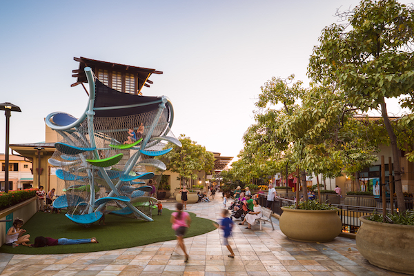 Children's play area at Ala Moana Center