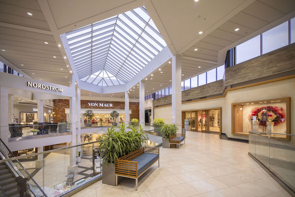 Nordstrom and Von Maur inside Perimeter Mall