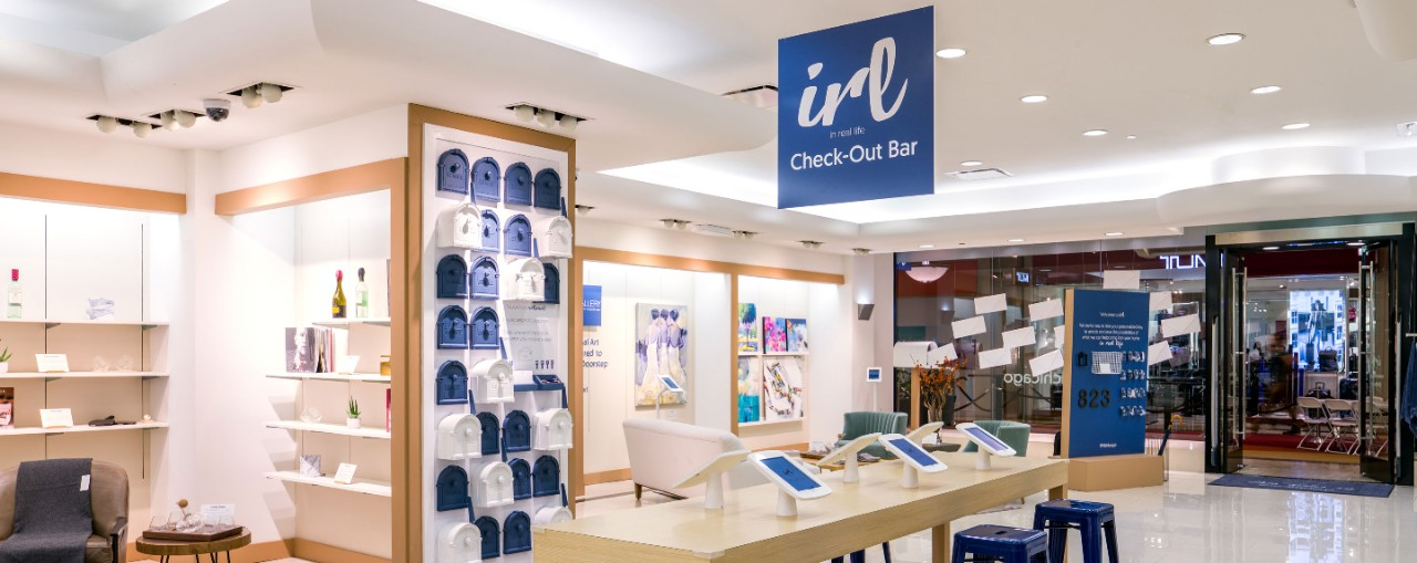 Water Tower Place's IRL experience showcasing online brands in real life